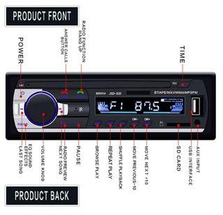 radio coche usb mp3