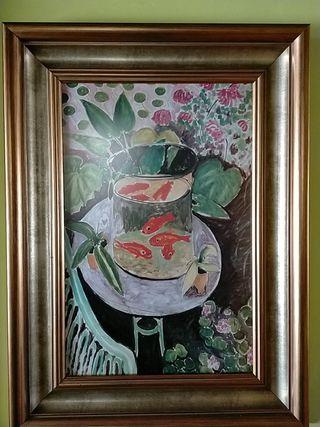 cuadro Matisse Goldfish