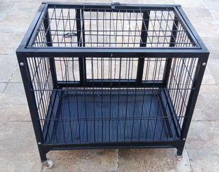 Jaula para. transporte gato perro conejo