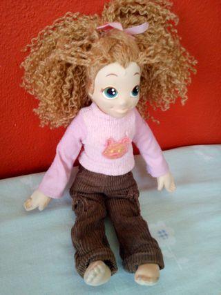 muñeca de tela Trudi