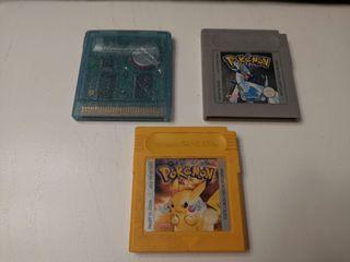 Pack Juegos Pokemon Gameboy