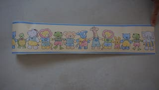 Cenefa infantil 3 metros adhesiva