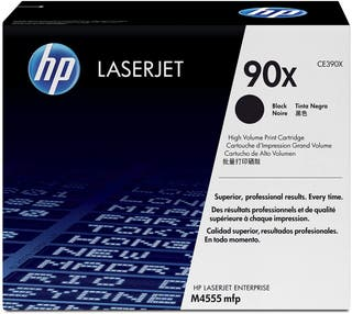 Original Nuevo HP 90X (CE390X) Tóner negro