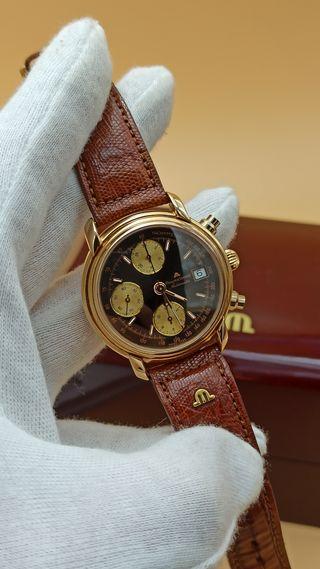 reloj vintage Maurice Lacroix automático crono