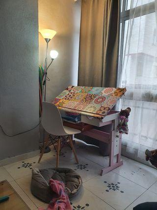 escritorio pupitre silla