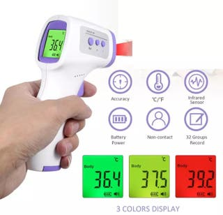 Termometro digital de Infrarrojos