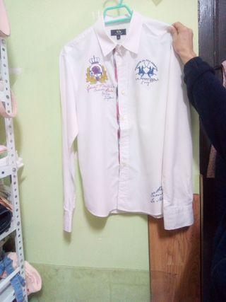 Camisa blanca de La Martina