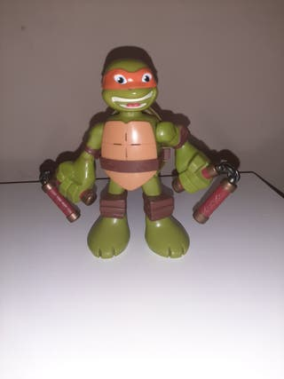 Tortuga Ninja interectiva