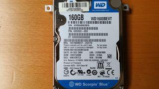 DISCO DURO 160 GDISCO DURO 160B Serial ATA II 2.5.