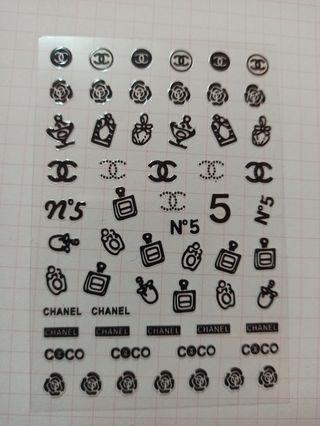 pegatinas de uñas de marcas /78