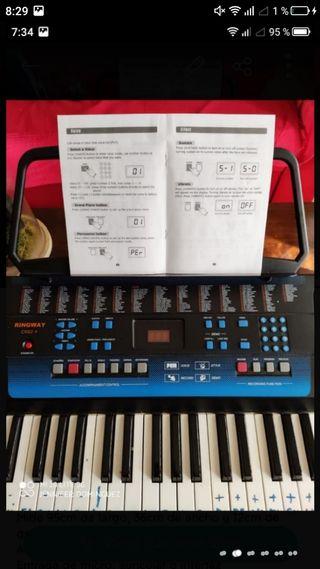 teclado piano organo sintetizador
