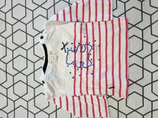 Camiseta mangas largas bebe Lulu Castagnette