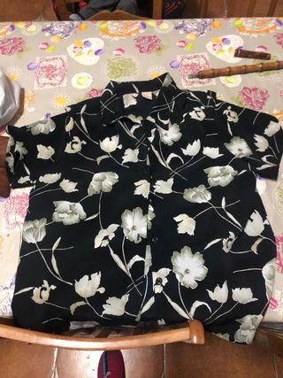 Camisa de verano talla grande