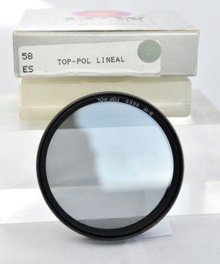 Filtro Polarizador B+W y Skylight Kenko de 58 mm