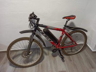 Bicicleta eléctrica motor central Bafang 750W
