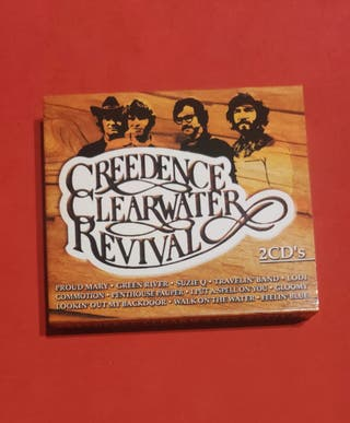 Dos CDs GREEDENCE CLEARWATER REVIVAL