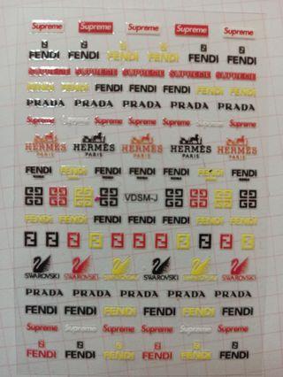 pegatinas de uñas de marcas /73