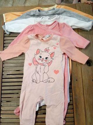 Lote de 5 pijamas 12 meses