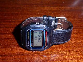 reloj pulsera Casio retro