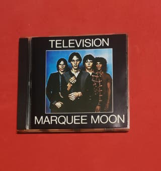 CD TELEVISION Marquee moon