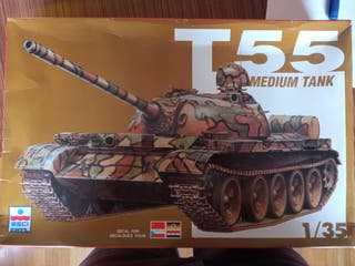 Maqueta tanque ruso T55 Esci 1/35