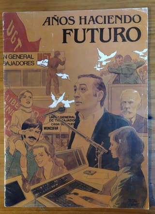 Revista, comic, tebeo de la UGT.