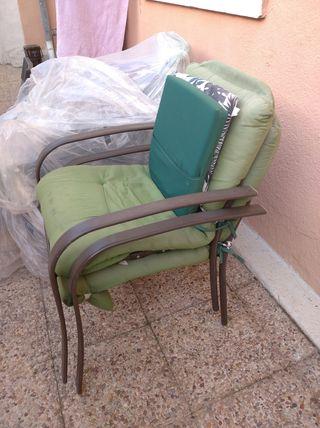 sillón butaca jardin