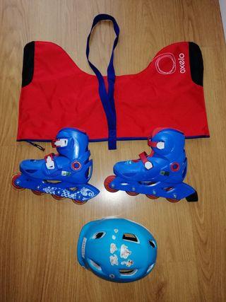 patines niño 32-34