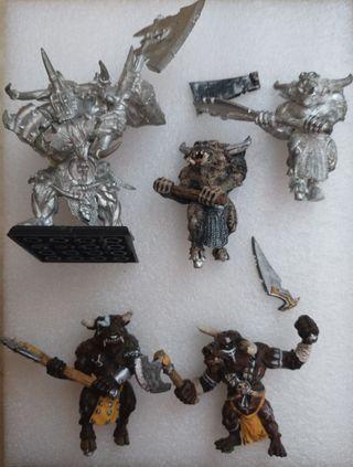 minotauros - Warhammer - bullgors