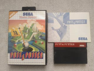 JUEGO PUT AND PUTTER,CONSOLA SEGA MASTER SYSTEM.