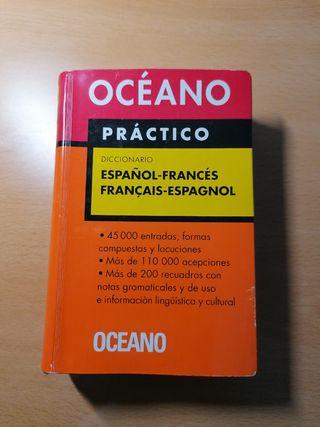 Diccionario Oceano Práctico Español Francés