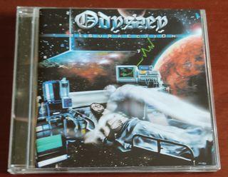 ODYSSEY Resurrección CD Metal Progresivo Heavy