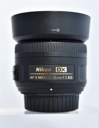 Objetivo NIKOR AF-S 35mm 1,8 G