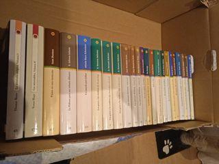 Colección 23 libros.