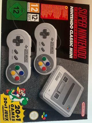 Súper Nintendo mini, SNES
