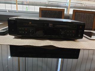 Reproductor de compact disc y minidisc sony mxd d3