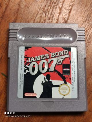 Juego Game Boy James Bond