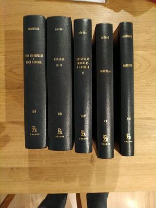 LOTE 5 LIBROS BIBLIOTECA CLÁSICA GREDOS