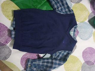 Camisa y chaleco