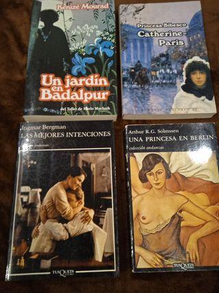 Vendo 4 magníficas novelas
