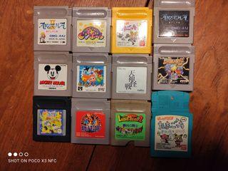 Lote juegos de Game Boy