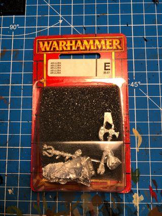 Warhammer Ar Ulrik El Imperio Nuevo en su blister