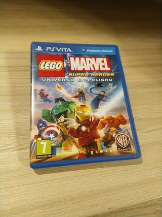 Juego Lego Marvel Super Héroes para PSVITA