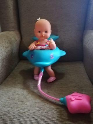 Nenuco baño de burbujas con delfín flotador