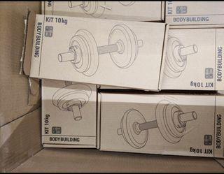 Kit musculacion 20 kg NUEVO