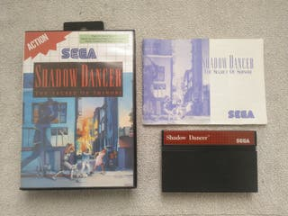 JUEGO SHADOW DANCER,CONSOLA SEGA MASTER SYSTEM.