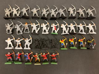 warhammer fantasy arqueros bretonia/imperio