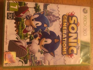 Juego sonic Xbox 360