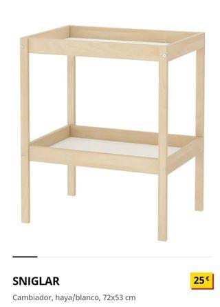 Cambiador bebe Ikea