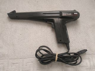 LIGHT PHASER CONSOLA SEGA MASTER SYSTEM.
